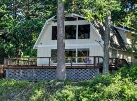 Lopez Island Hunter Bay Waterfront Home, Lopez