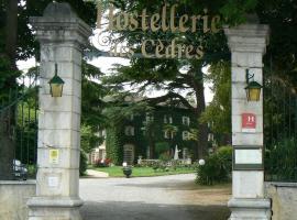 Hostellerie des Cèdres, Villeneuve-de-Rivière (рядом с городом Clarac)