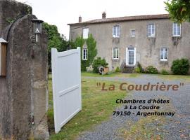 La Coudrière, La Coudre (рядом с городом Étusson)