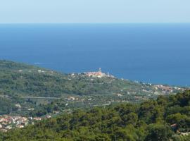 Casa Erbaea, Diano San Pietro (Villa Faraldi yakınında)