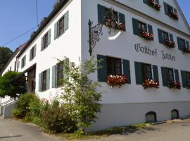 Gasthof Zahler, Röfingen