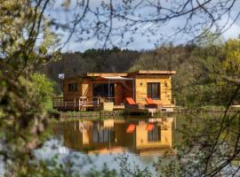 LACabane Lodge Nature, Saint-Vivien (рядом с городом Montazeau)