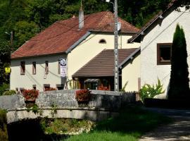 L'auberge Des 3 Ponts, Cusance (рядом с городом Brémondans)