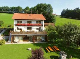 Apartment Bayerwald 5, Breitenberg (Sonnen yakınında)