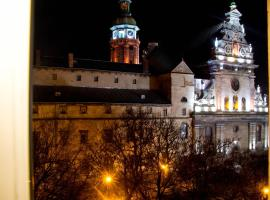 The heart of the Lviv