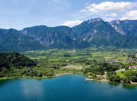 Panorama E Lago Di Levico Terme, Levico Terme (Novaledo yakınında)