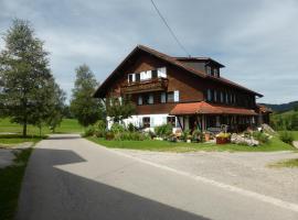 Ferienwohnung Thoma, Weitnau (Hellengerst yakınında)