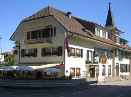 Hotel Restaurant Moléson, Flamatt (Ueberstorf yakınında)