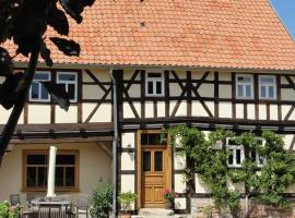 Holiday home Fachwerkhaus 1, Laucha