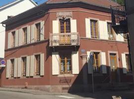 Chambres Deschamps Maison Rohmer, Sainte-Marie-aux-Mines (рядом с городом Lusse)