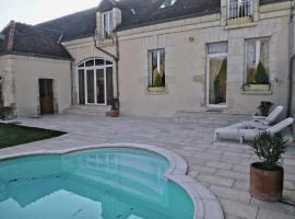 Villa Rosa, Сен-Жорж-сюр-Шер (рядом с городом Francueil)