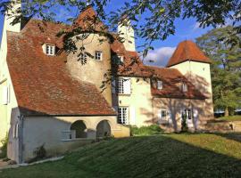Un Château En Bordure De Rivière, Le Veurdre (рядом с городом Neure)