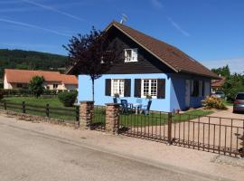 Chalet Bleu, Granges-sur-Vologne (рядом с городом La Chapelle)