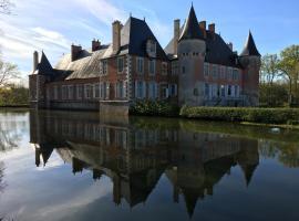 Château de Souesmes, Souesmes (рядом с городом Ménétréol-sur-Sauldre)