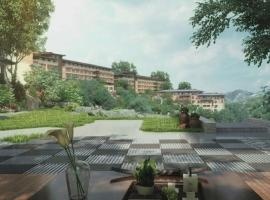 Jiumi Apartment Hotel Beijing Longhu Changcheng Yuanzhu Branch, Simataicun (Beiliying yakınında)