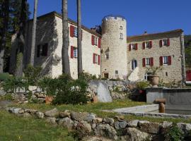 Chateau de la Rode, Aumessas (рядом с городом Alzon)