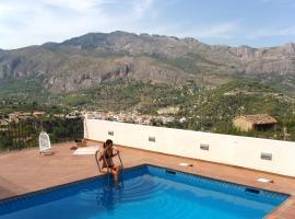 Apartamentos Serrella Rural Guadalest, Benimantell (Benifató yakınında)