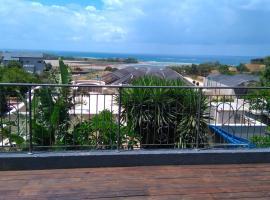 The balcony on the Sea