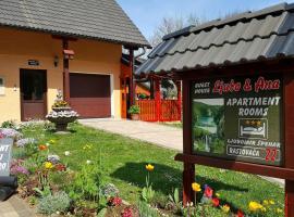 Guest House Ljubo & Ana, Растовача