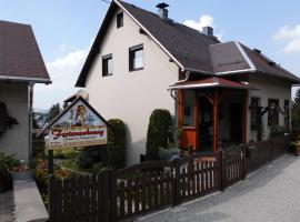 Ferienwohnung Langzettel, Oberweißbach (Deesbach yakınında)