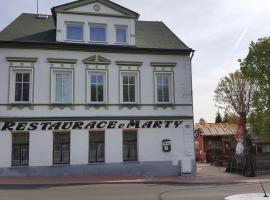 Restaurace U Marty, Dubí (Pozorká yakınında)