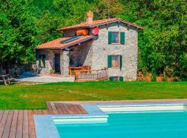 Casa Pescaglia, Pescaglia (Lucese yakınında)