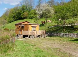 La roulotte du bucheron, Лапутруа (рядом с городом Фреланд)