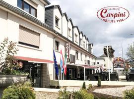 Hotel Carpini, Bascharage (Nær Differdange)