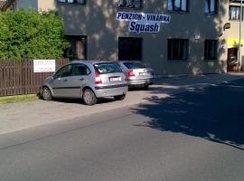 Squash penzion Hájek, Prag (Křenice yakınında)