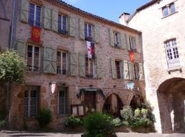 Chambres d'hôtes l'Escuelle des Chevaliers, Корд-сюр-Сьель (рядом с городом Vindrac-Alayrac)