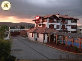Hosteria El Imperio Real, San Miguel de Salcedo (Hacienda Yanayacu yakınında)
