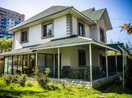 """European"" backpackers hostel in Almaty"