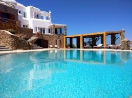 Villa Crystal Agios Sostis, Миконос (рядом с городом Айос-Состис)