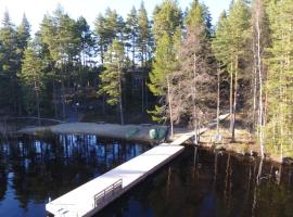 Pyhäjärven Lomakylä, Ruolahti (рядом с городом Kuhmoinen)