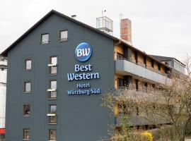 BEST WESTERN Hotel Würzburg-Süd, Würzburg (Randersacker yakınında)