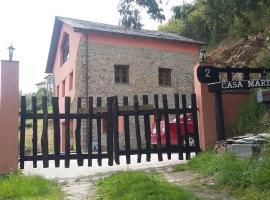 Casa Martelos, Коанья (рядом с городом Villayón)