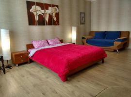 Apartment Golovatskogo 105 A