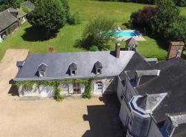 Vine House at Le Bignon, Jarzé (рядом с городом Cheviré-le-Rouge)