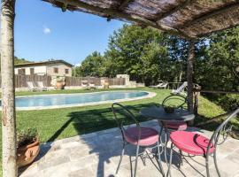 spoleto swimingpool villa le querce, Spoleto (Montebibico yakınında)
