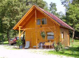 Bernsteinsee Blockhaus, Zalalövő (рядом с городом Szaknyér)