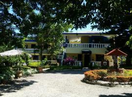 薩納薩爾瓦多亞爾丁賽克勒托旅舍, 聖地亞哥洛斯卡巴