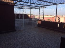 Bel appt avec terrasse, Marrakech