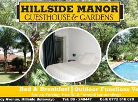 Hillside Manor, Bulawayo (Near Matobo)