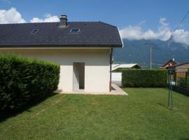Appartement T4 130m2, Grignon (рядом с городом Gilly-sur-Isère)