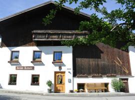 Ferienhaus beim Lener, Innsbruck (Neu Götzens yakınında)
