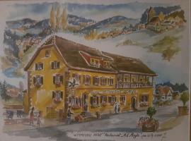 Hotel Restaurant A l'Aigle, Wimmenau