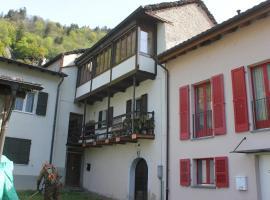 Appartamento Favera, San Vittore (Verdabbio yakınında)