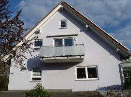 Ferienwohnung Muhlerain, Heitersheim (nära Ballrechten)