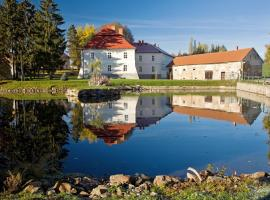 Jizdarna Zamek Skalice, Čkyně (Vimperk yakınında)