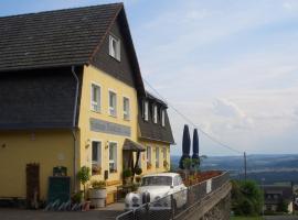Restaurant und Gasthaus Zur Burgschänke, Aremberg (Eichenbach yakınında)